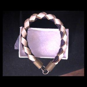 90s leather bracelet
